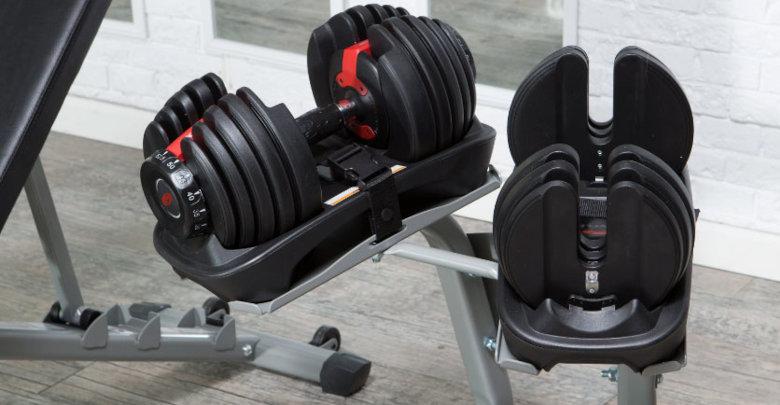 دمبل با وزن متغیر مناسب برای باشگاه ورزشی خانگی