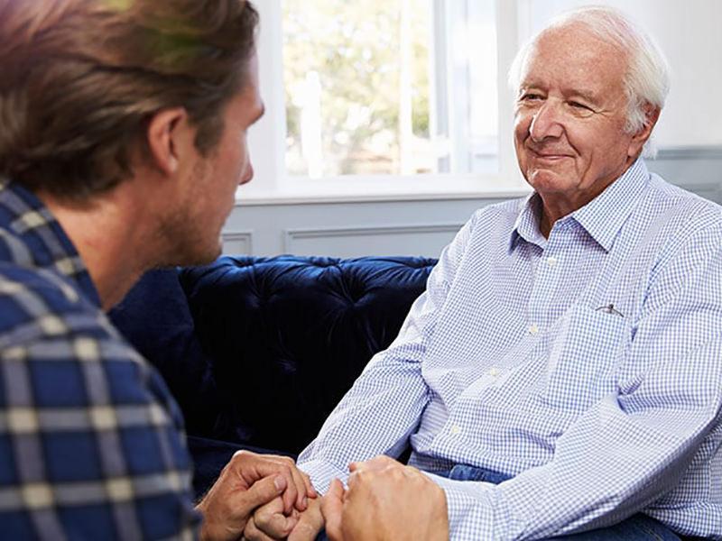 صحبت کردن با سالمندان